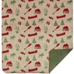 Denali Rustic Lodge Comfort MicroPlush ® Throw Blankets