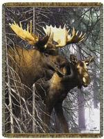 Wildlife Moose Tapestry Throws