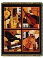 Music Tapestry Throws