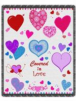 Valentine Tapestry Throws
