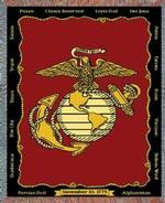 United States Marine Tapestry Throws