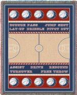 Basketball Tapestry Throws