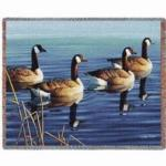 Ducks & Geese Tapestry Throws