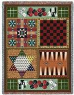 Billiard, Cards and Games Tapestry Throws