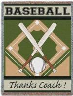 Baseball Tapestry Throws