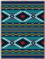 Southwest Saddle Blankets Tapestry Throws