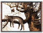 Cat Tapestry Throws by Charles Wysocki