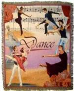 Dance Tapestry Throws