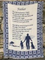 Father, Dads & Husbands Tapestry Throws