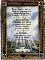 23rd Psalm Tapestry Throws