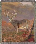 Wildlife Deer Tapestry Throws