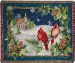 Christmas Tapestry Throws