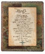 The Lord's Prayer, Matthew 6:9-13, Luke 11:2-4 Tapestry Throw