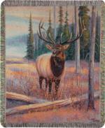 Wildlife Elk Tapestry Throws