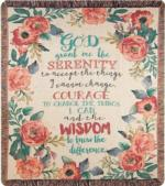 Serenity Prayer Throws