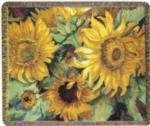 Flowers & Floral Tapestry Throws