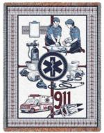 Medical Themed Tapestry Throws