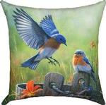 Birds & Chickens CLIMAWEAVE Pillows