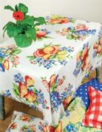 Poly Table Toppers & Matching Pillows