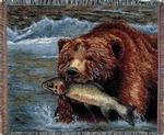 Wildlife Bear Tapestry Throws