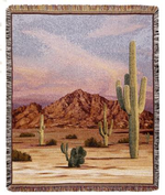 Southwest Scenery & Native American Tapestry Throws