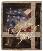Patriotic Tapestry Throws