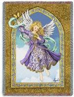 Angel Tapestry Throws Designed by Ingrid