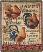 Chickens, & Roosters Tapestry Throws