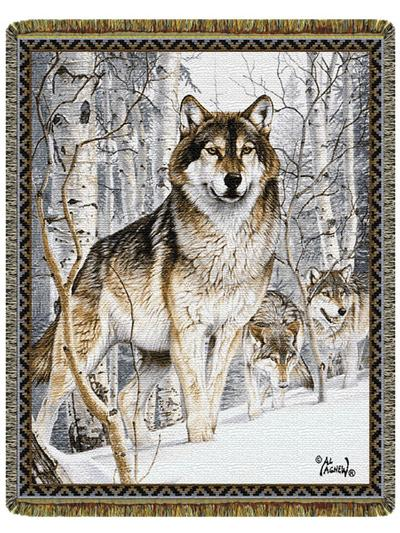 Wolves Amp Timeber Wolves Wildlife Wolf Cotton Throw