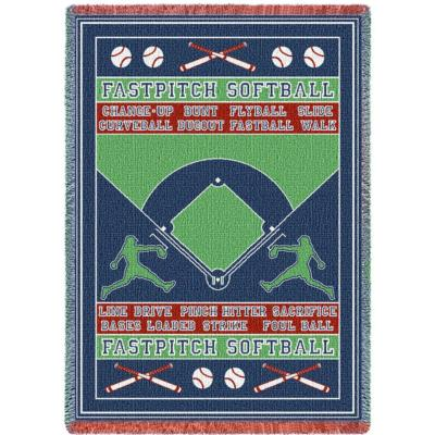 Cindy's Throws Has You Covered With A Large Selection Of Softball Awesome Softball Throw Blanket