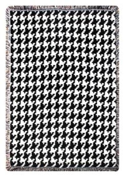 A Large Variety Of Different Colored Houndstooth Print Cotton Throws Unique Black And White Houndstooth Throw Blanket