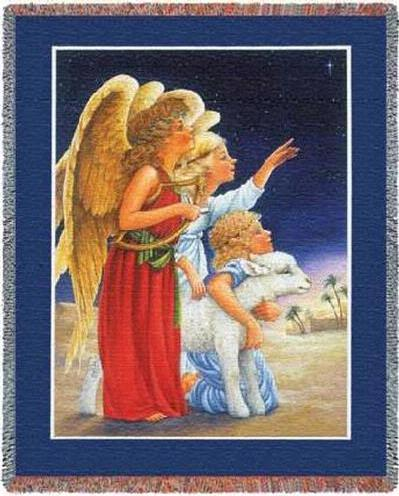 Cindy's Throws Has The Largest Selection Of Angel Cotton Throw Inspiration Guardian Angel Throw Blanket