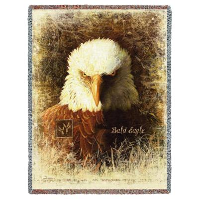A Magnificent Selection Of Bald Eagles Tapestry Throw Blankets Enchanting Eagles Throw Blanket