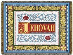 Jehovah Tapestry Throw