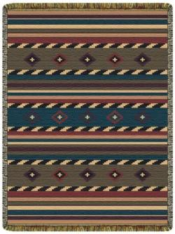 SALE Cherokee Trail Tapestry Throw