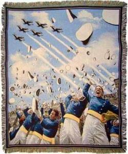 United States Air Force Academy Tapestry Throw