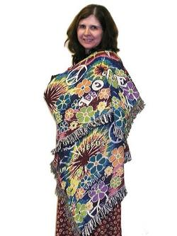 SALE Groovy! Tapestry Comfort Wrap