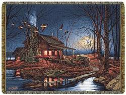 SALE Moonlight Retreat Tapestry Throw