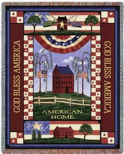 American Home Tapestry Throw