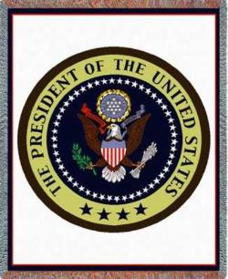 Presidential Seal Tapestry Throw