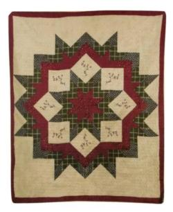 SPECIAL OFFER Morning Star Cotton Quilt Blanket