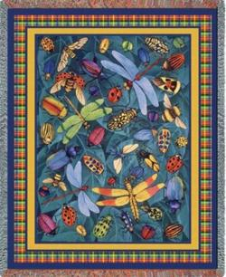 Bugs Life Tapestry Throw
