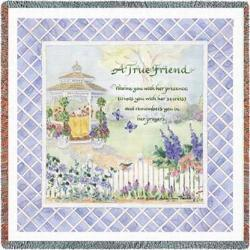 A True Friend Tapestry Throw