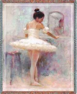 Reflection Ballet Tapestry Throw