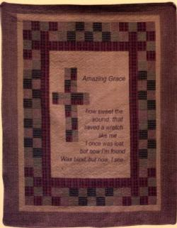 Amazing Grace Cotton Quilt Blanket