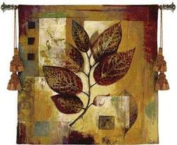 Modernist Autumn Tapestry Fine Art Wall Hangings