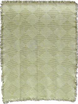 Diamond Lace Naturals Woven Throw Blanket