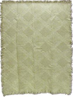 Fancy Diamonds Naturals Woven Throw Blanket