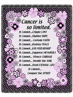 Cancer Cannot Throw Blanket