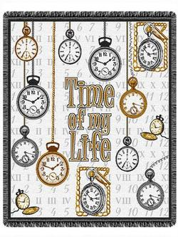 A Time Of My Life Throw Blanket